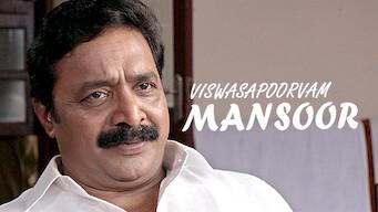 Viswasapoorvam Mansoor (2017)