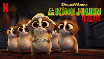 All Hail King Julien: Exiled (2017)