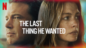The Last Thing He Wanted (2020)