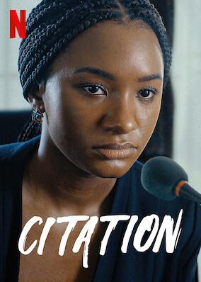 Is Citation (2020) on Netflix?